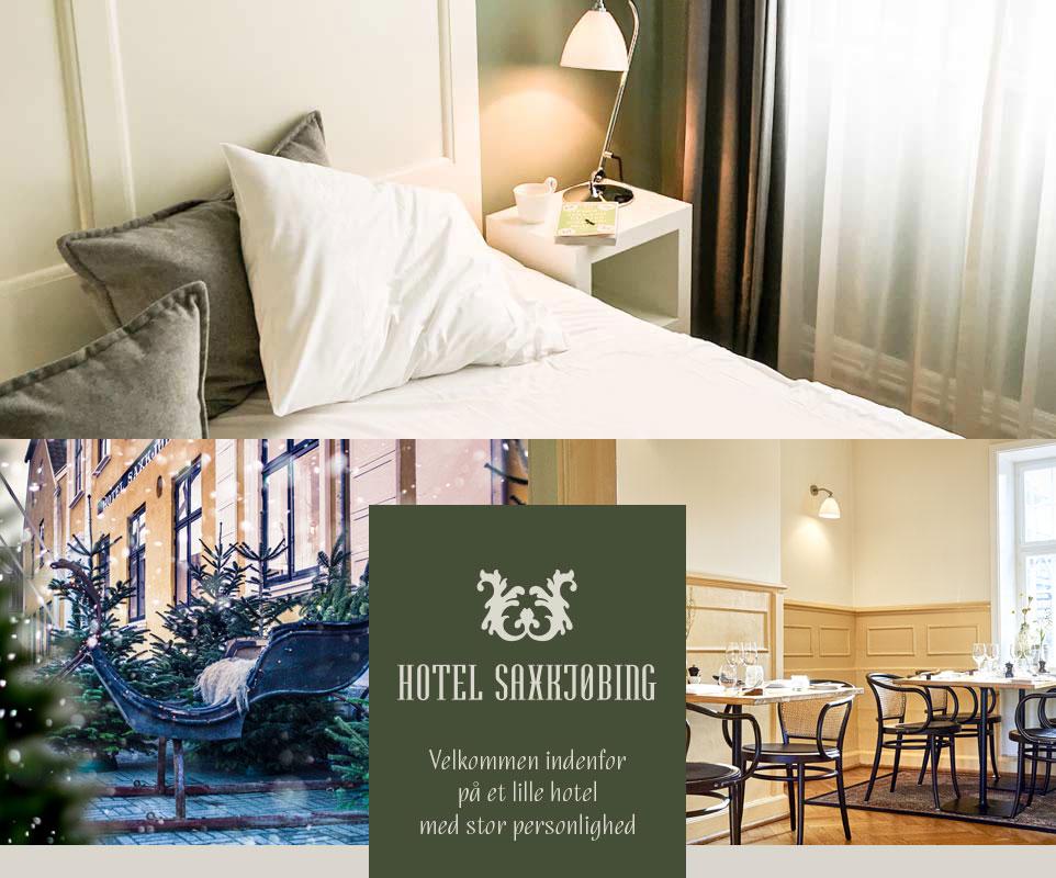 Jul på Hotel Saxkjøbing - Hyggelige omgivelser