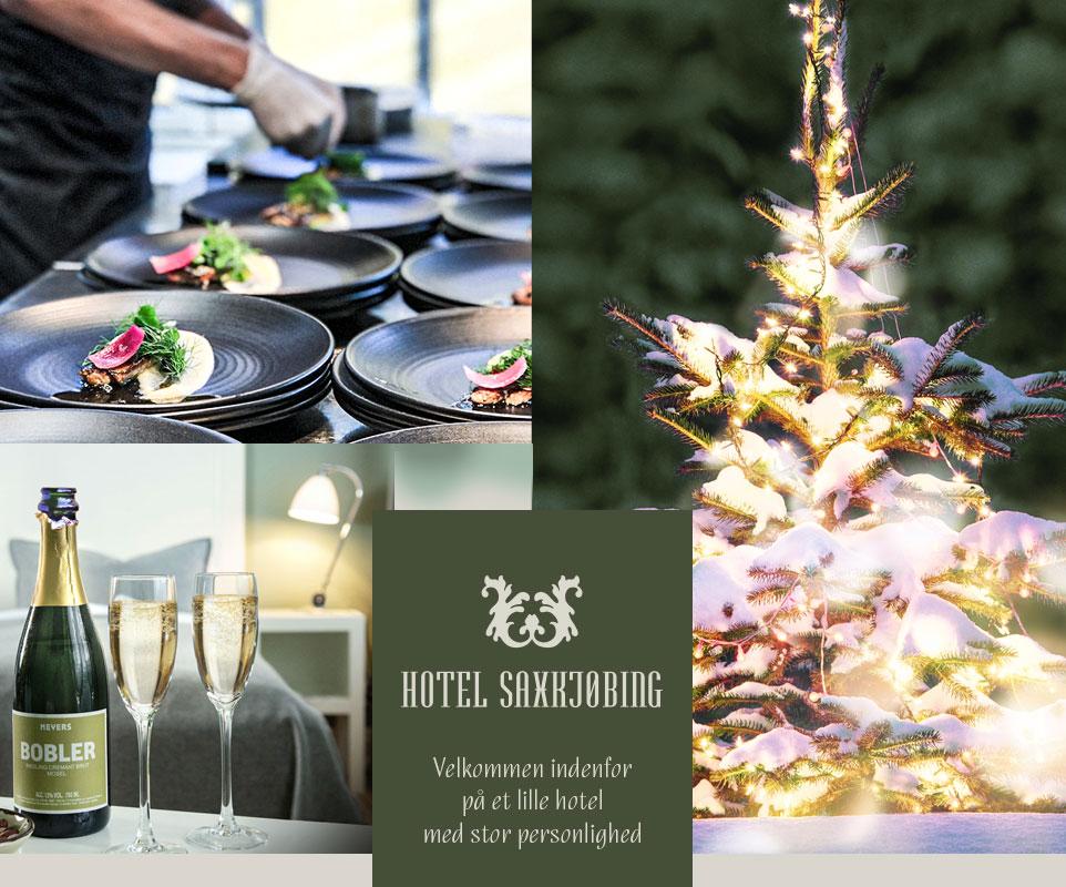 Jul på Hotel Saxkjøbing - Velkommen indenfor