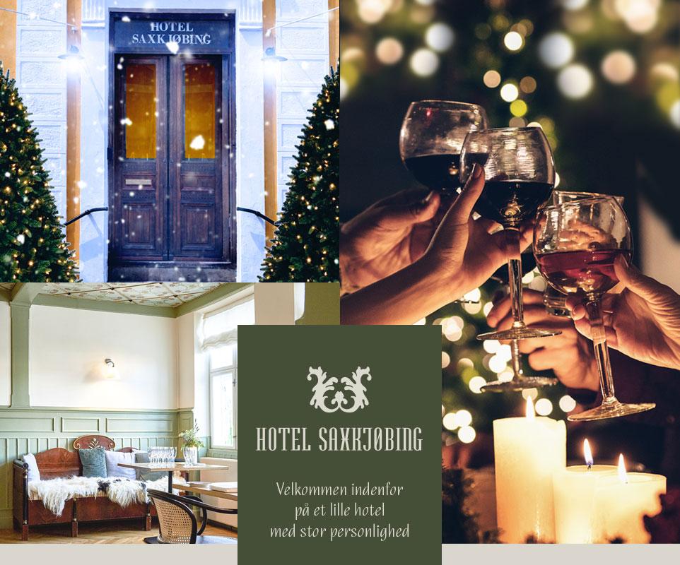 Besøg Hotel Saxkjøbing - Masser af hygge og julestemning