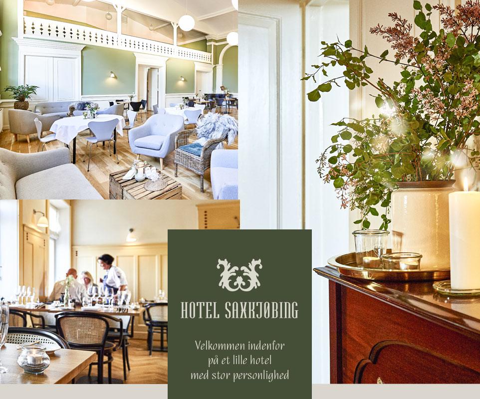 Besøg Hotel Saxkjøbing - Et hotel med stor personlighed